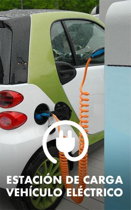 Estación de carga de vehículo eléctrico